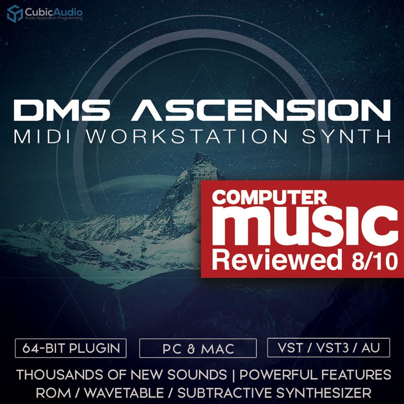 Ascension VST/ AU Synthesizer - Mechanimal Psytrance Demo