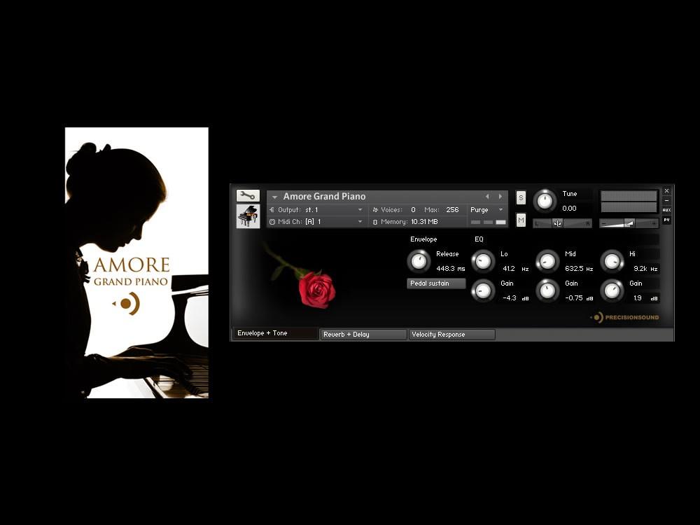 Amore Grand Piano - Free NI Kontakt